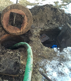 We fix septic tank problems. Don't wait till it's too late.